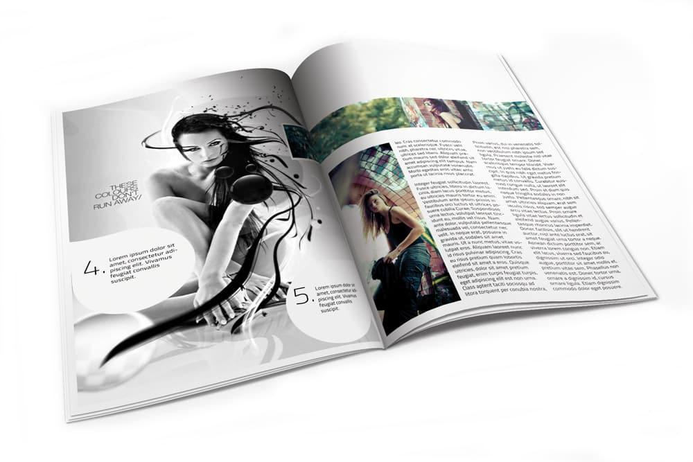 magazine design 90 degree design raleigh nc