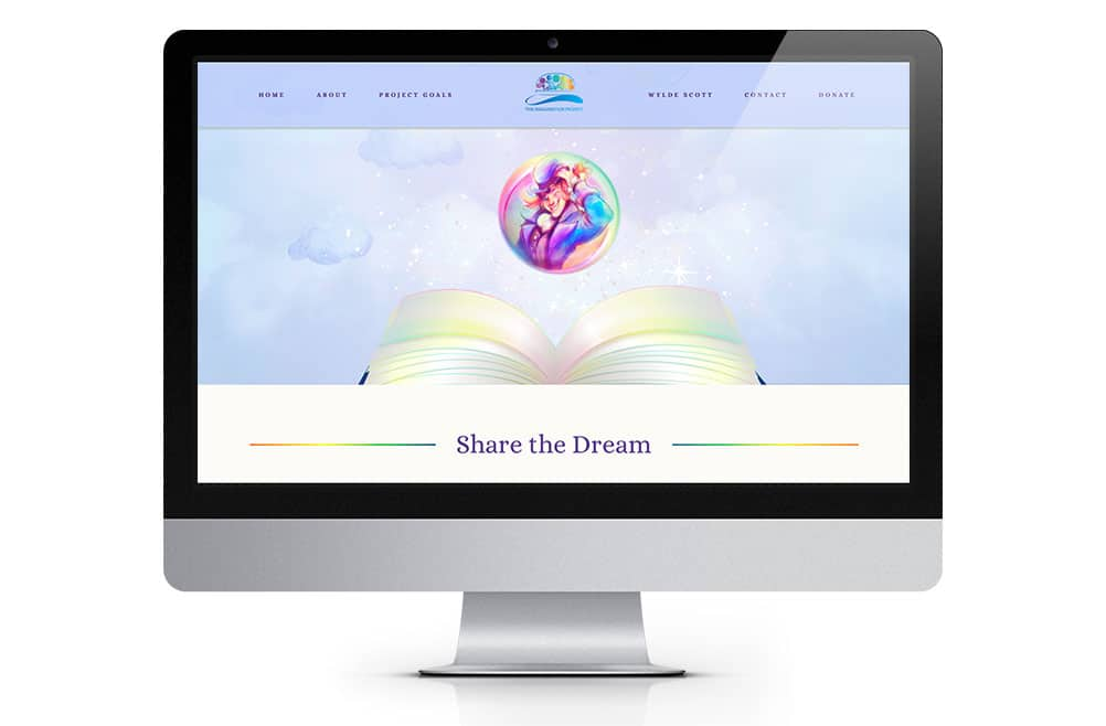 Imagination Project Nonprofit Website
