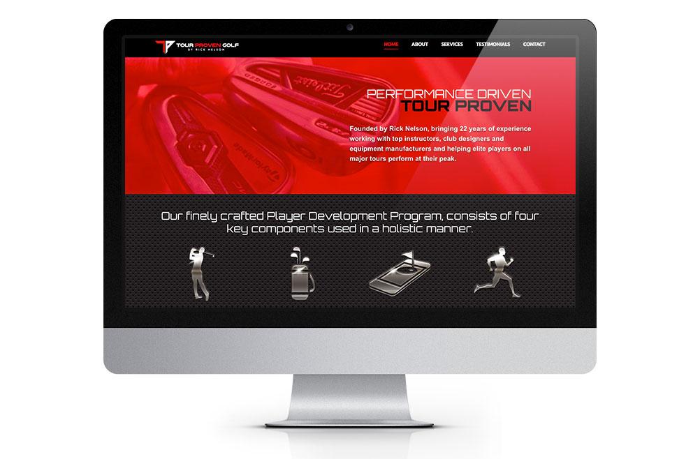 Tour Proven Golf Website Design and Development