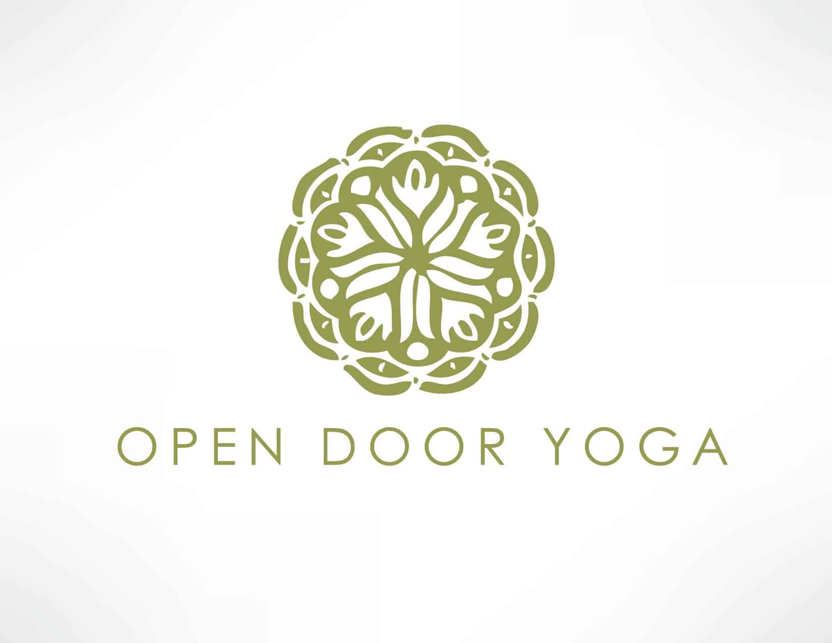 Open Door Yoga Logo
