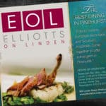 Elliotts on Linden Restaurant Ad Design
