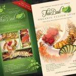 Thai Basil Restaurant Ad Design