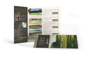 trifold brochure quote