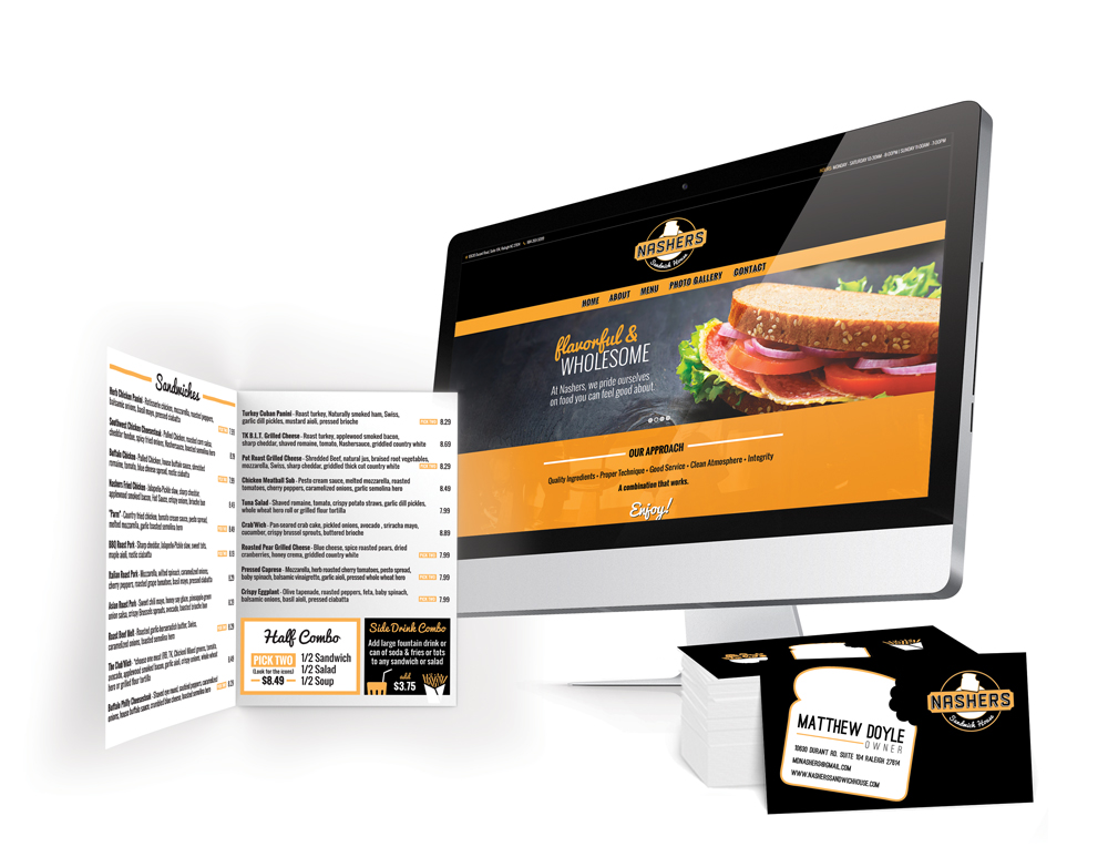 nashers-website-menu-business cards