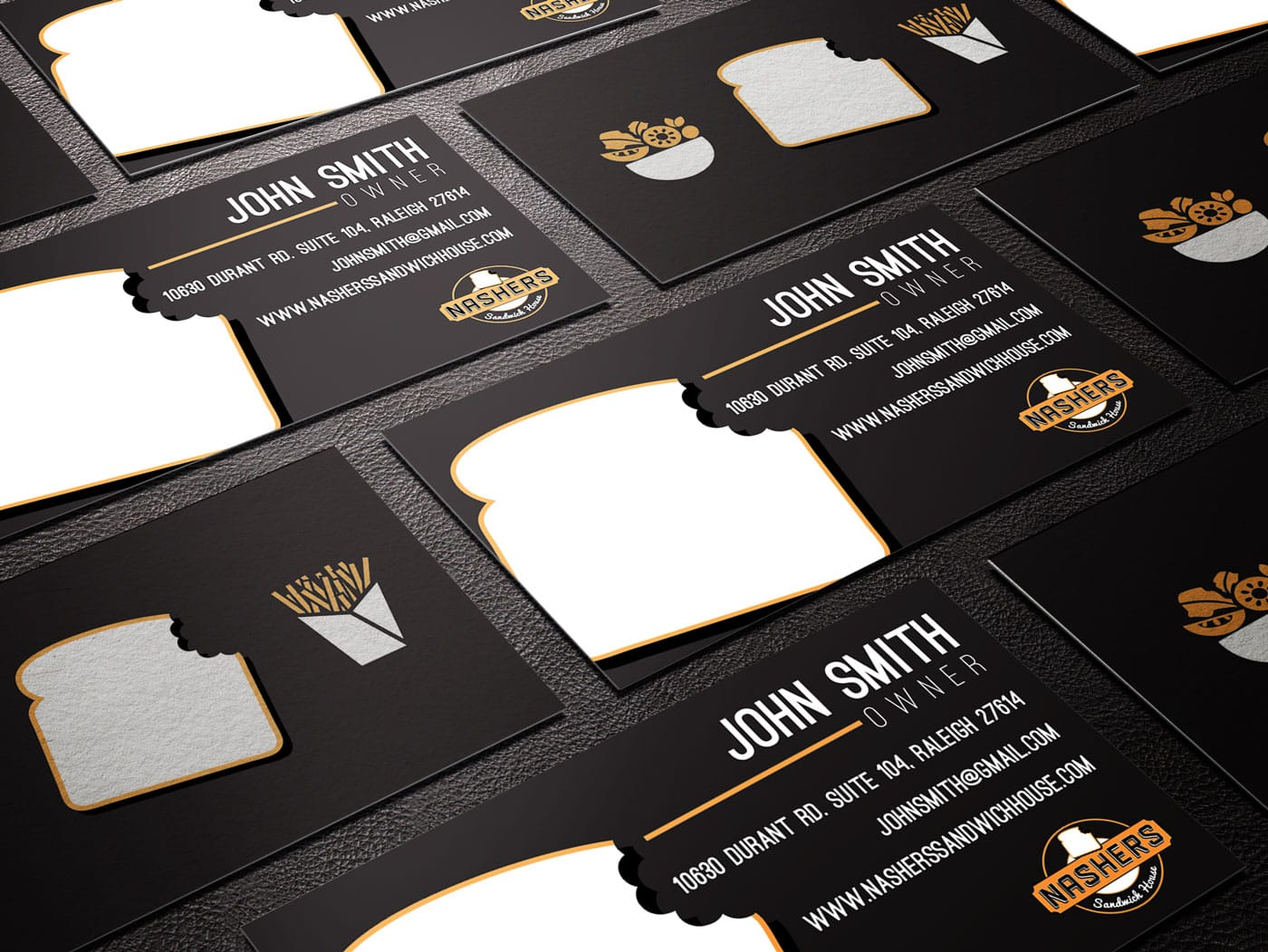 Nashers-business-card-design
