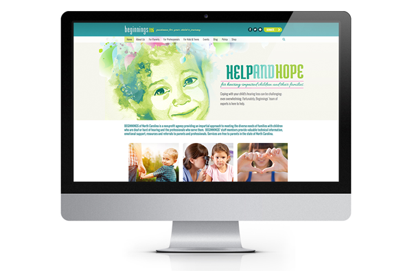Beginnings NonProfit Website