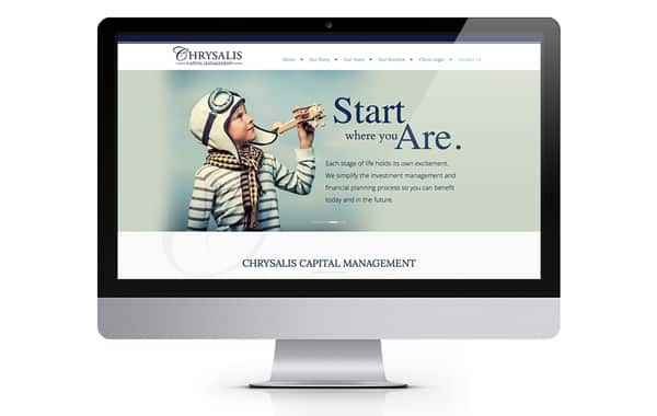 Chrysalis Website Design and Development
