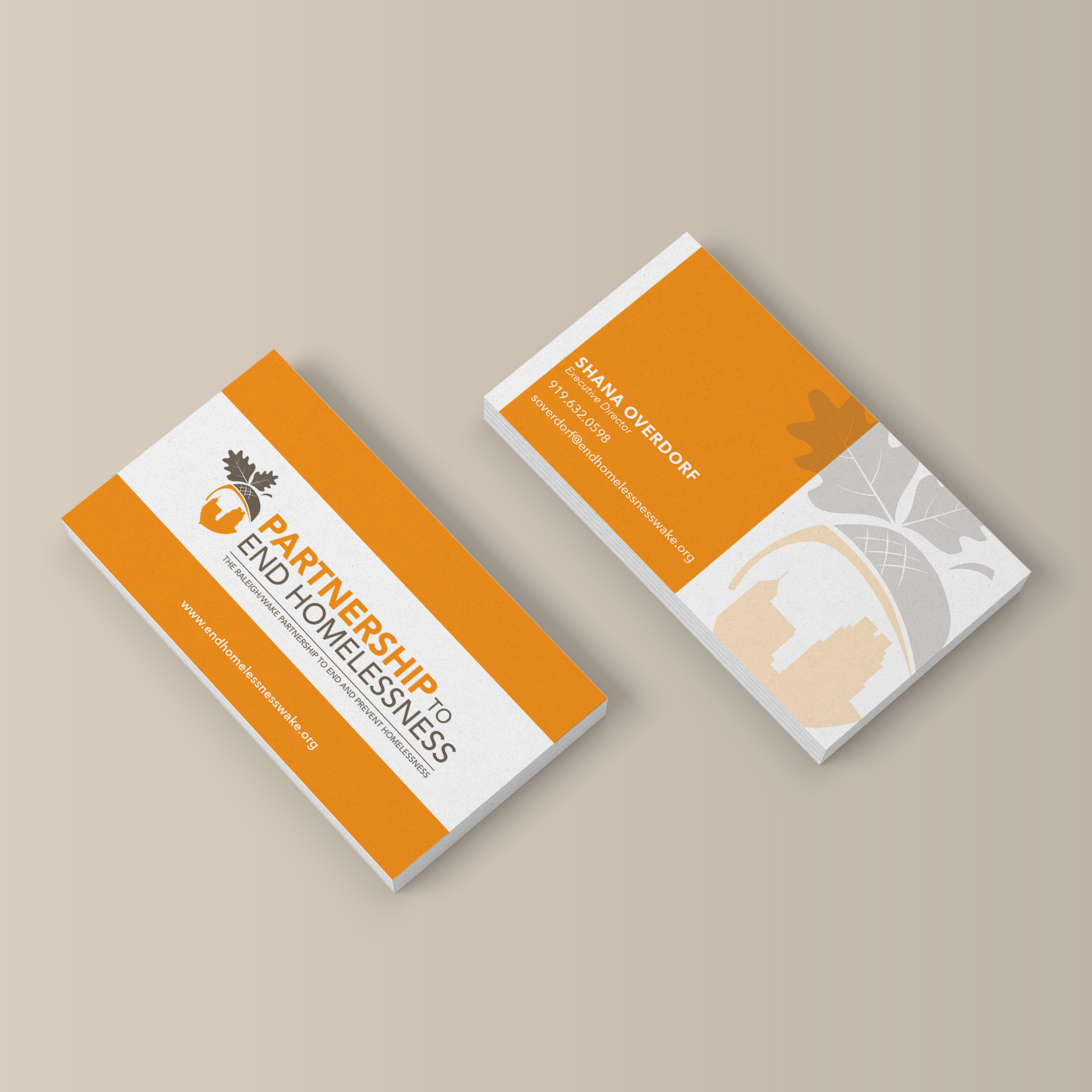rwpeph logo design on business cards