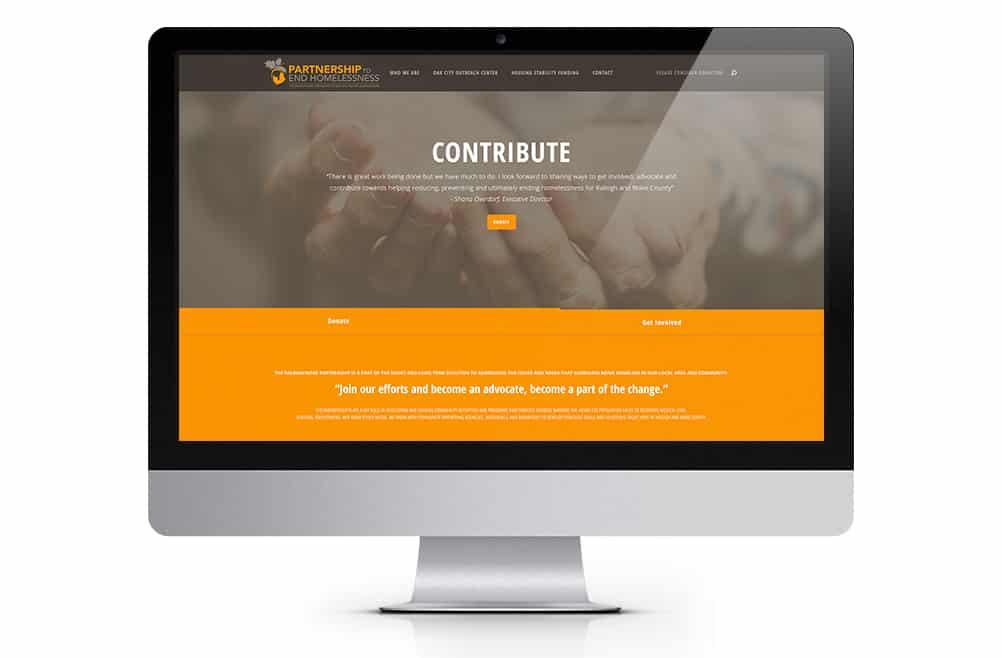 Raleigh Wake Partnership to End Homelessness Website