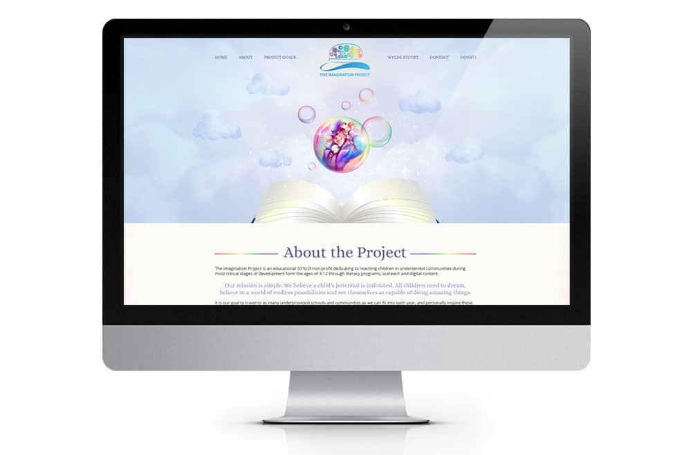 Imagination Project Website