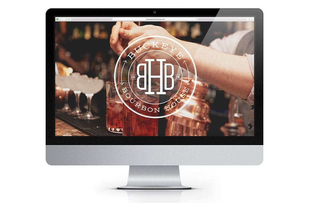 Buckeye Bourbon House Website Design