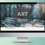 Wine and Design Website