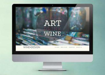 Wine and Design Website