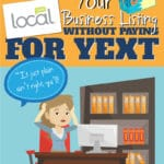 claim local.com without paying for yext