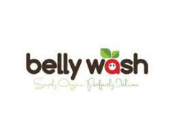 belly wash juice logo