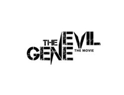 The evil gene movie logo