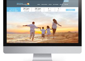 barefoot resort rentals website