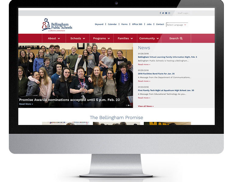 bellingham schools website